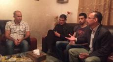 كوكب: التجمع يزور عائلة الأسير زاهر علي