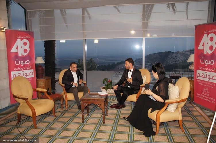 الإعلان عن انطلاق فضائية فلسطين 48 من الناصرة