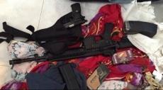 عبلين: اعتقال مواطن بشبهة حيازة أسلحة وذخيرة
