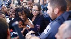 تل أبيب: مواجهات بين متظاهرين أثيوبيين والشرطة