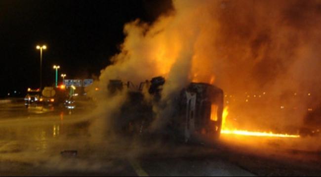 دبورية: حرق شاحنة وازدياد الاستياء بسبب العنف