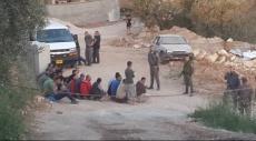 اعتقال عشرات العمال الفلسطينيين داخل الخط الأخضر