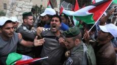 الخليل: الاحتلال يقمع مسيرة سلمية لحماية بيت البركة من التهويد