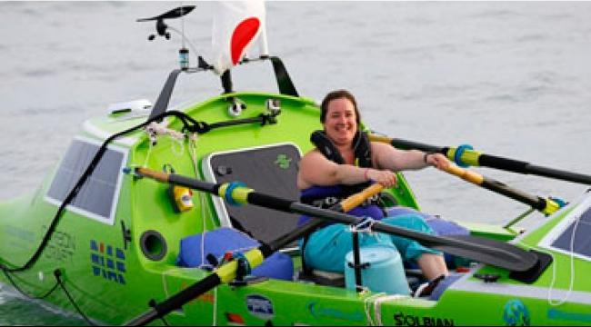 أمريكية تطمح أن تكون أول امرأة تعبر المحيط الهادي منفردة