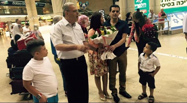 الطيرة تستقبل د. خاسكية بعد الإفراج عنه في أرمينيا