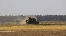 قطاع غزة: توغل عسكري إسرائيلي وتجريف أراض زراعية
