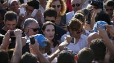 أنجلينا جولي تزور مخيما للاجئين السوريين في تركيا