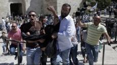القدس المحتلة: إصابة فلسطينيين اثنين بمواجهات عند باب العامود