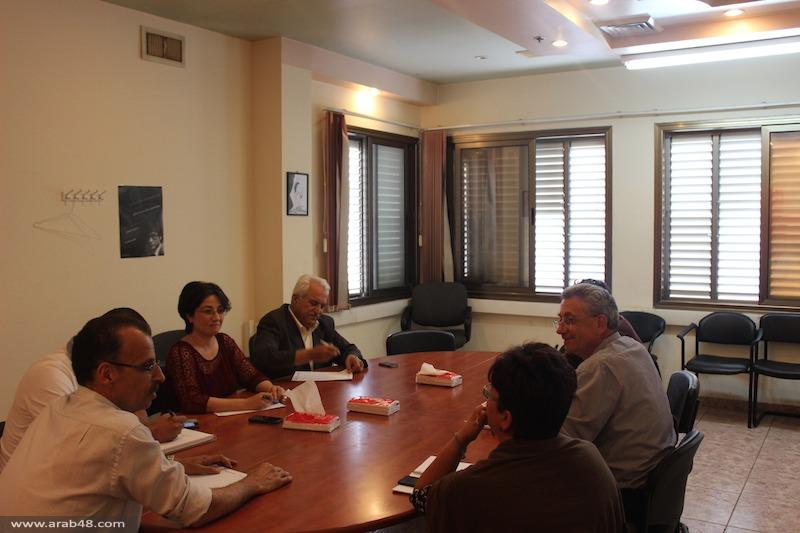الناصرة: لقاء بين التجمع وحركة المبادرة الفلسطينية