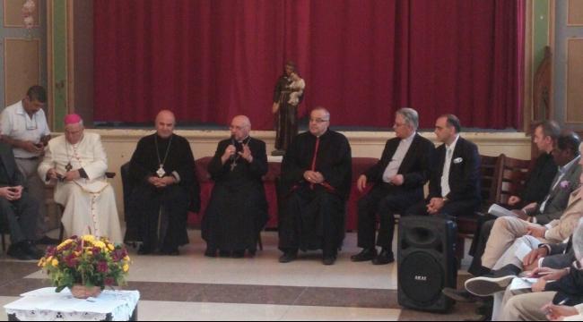 رؤساء الكنائس يبحثون مع السفراء التحديات التي تواجه العرب المسيحيين