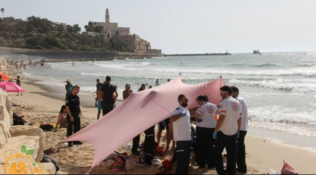 غرق شاب من نابلس في أحد شواطئ مدينة يافا