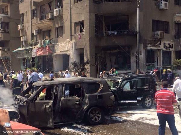 """مصر: جماعة باسم """"المقاومة الشعبية"""" تعلن المسؤولية عن استهداف النائب العام"""