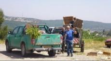 مداهمة قرية إقرث المهجرة ومصادرة أغراض من الكنيسة