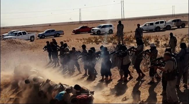 سورية: داعش يعدم امرأتين بقطع الرأس ويصلب 8 أحياء