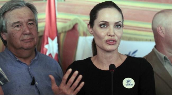 أنجلينا جولي تتحدّث عن داعش
