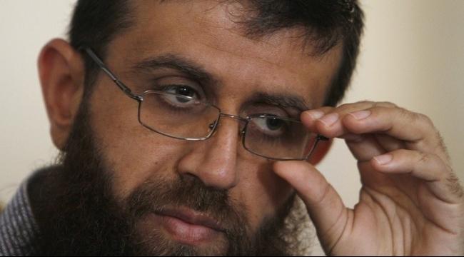 """نقل الأسير خضر عدنان إلى مستشفى """"كابلان"""""""