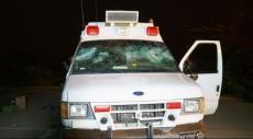 الجولان: اعتقال 9 أشخاص بشبهة مهاجمة سيارة إسعاف عسكرية