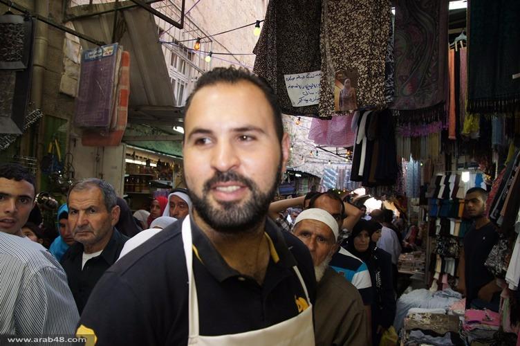 القدس: انتعاش الحركة التجارية في شهر رمضان
