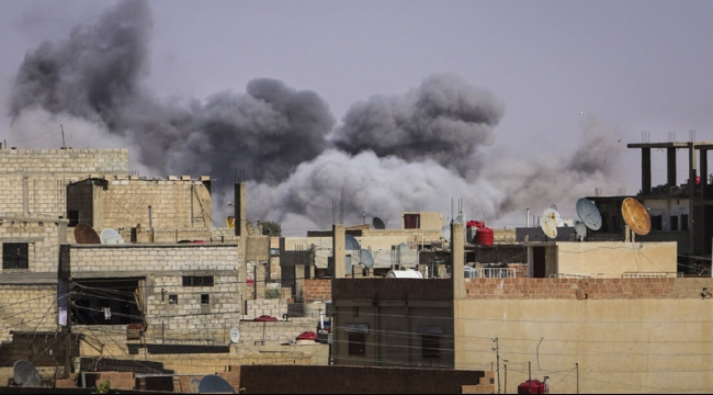 سورية: 28 قتيلا في قصف جوي استهدف الباب
