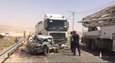 النقب: 4 إصابات إحداها حرجة في حادث طرق