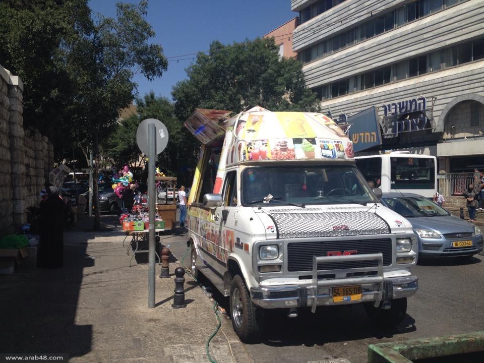 الناصرة تستقبل العيد وحركة نشطة في الشوارع
