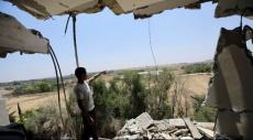 الاحتلال يقصف موقعين في شمال ووسط قطاع غزة