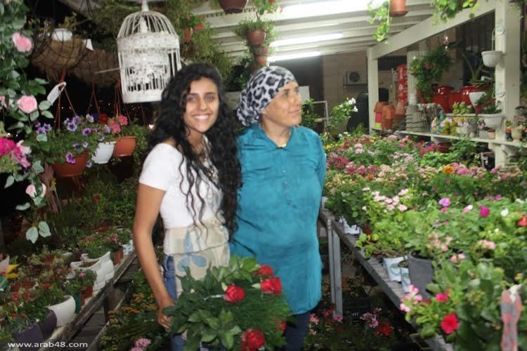 شفاعمرو تستقبل عيد الفطر وباقات الورود تزيّن شوارعها