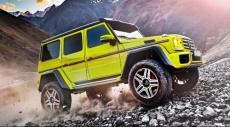 مرسيدس تؤكد اعتزامها إنتاج سيارة جديدة للطرق الوعرة