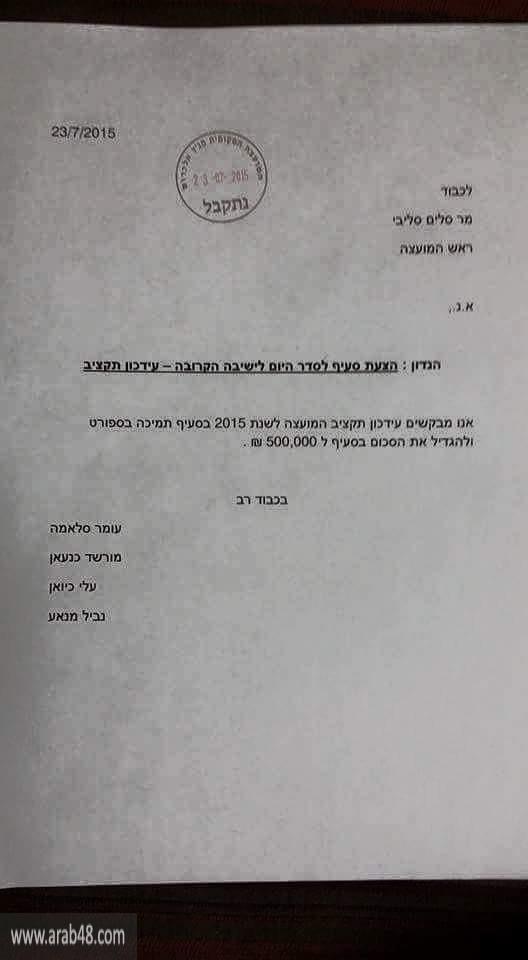 مناع: أحمّل المجلس المحلي مسؤولية انهيار فريق مجد الكروم