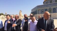التجمع يدعو لعقد مؤتمر شعبي ووطني لنصرة القدس والأقصى