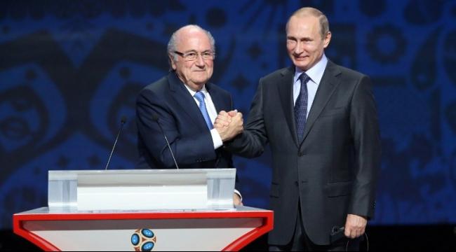 بوتين: بلاتر يستحق جائزة نوبل