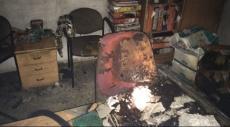 عبلين: تمديد اعتقال المشتبه بإضرام النيران بالمجلس