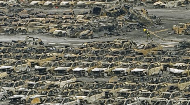 الصين: ارتفاع عدد القتلى إلى 104