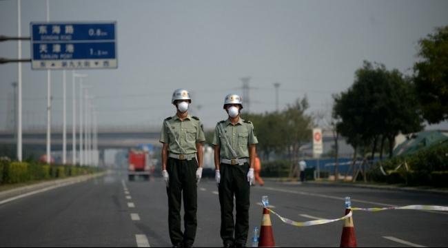 الصين: نقل مئات الأطنان من مادة السيانيد من موقع الانفجارات