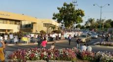 النقب: مظاهرة في رهط دعمًا للأسير علان