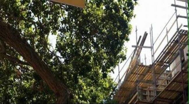 مصرع عامل من الضفة الغربية بورشة بناء في هرتسليا