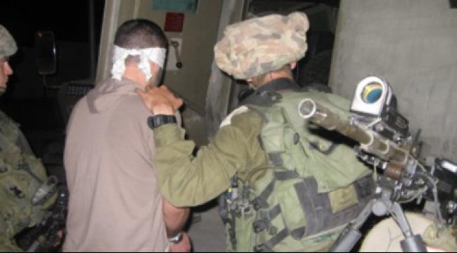 الاحتلال يعتقل 7 فلسطينيين في الضفة الغربية