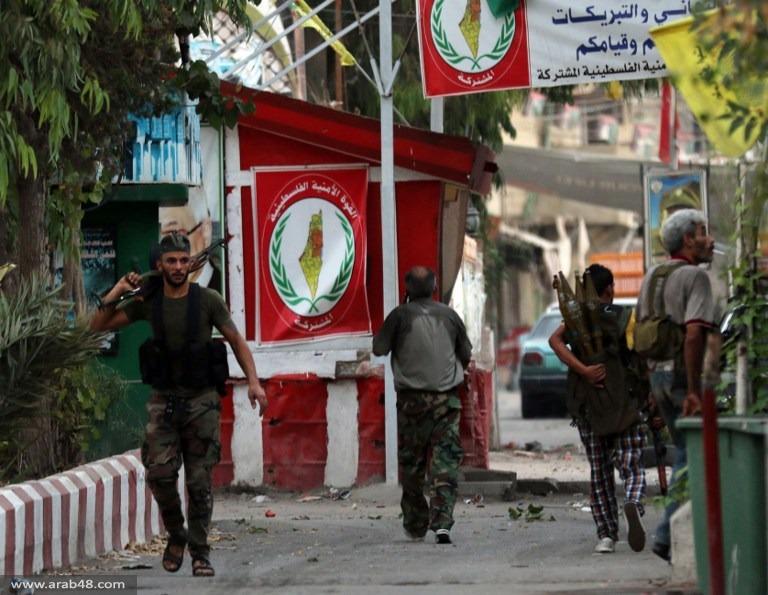 """عين الحلوة: قتيلان في اشتباكات بين فتح و""""جند الشام"""""""
