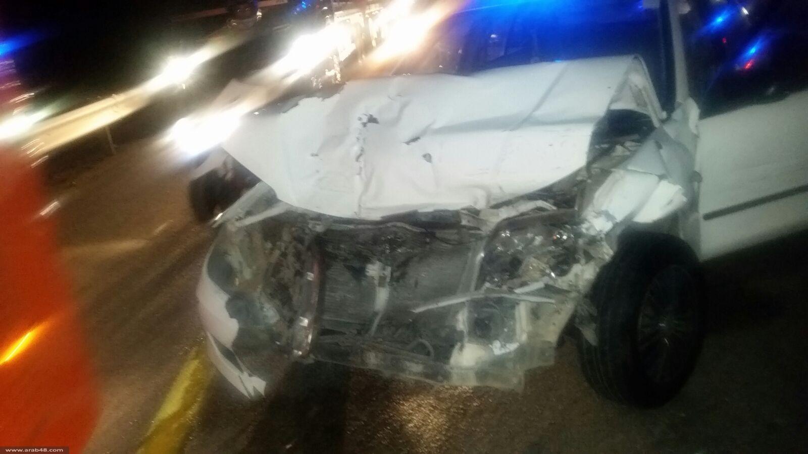 4 إصابات بحادث سير قرب مجد الكروم