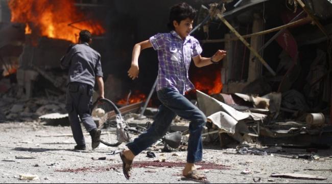 دوما: 20 قتيلا على الأقل بغارات للنظام