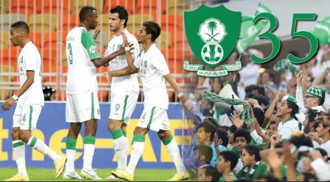 الأهلي السعودي يخوض 35 مباراة متتالية دون خسارة