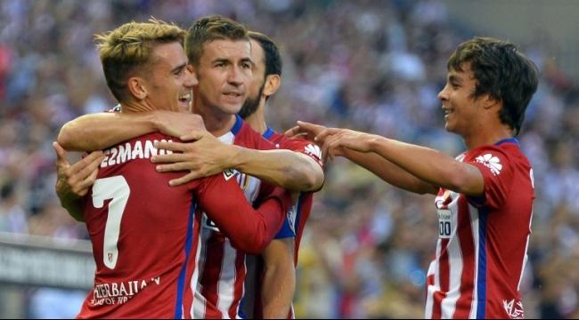 أتلتيكو مدريد يستهل الدوري بالفوز على لاس بالماس