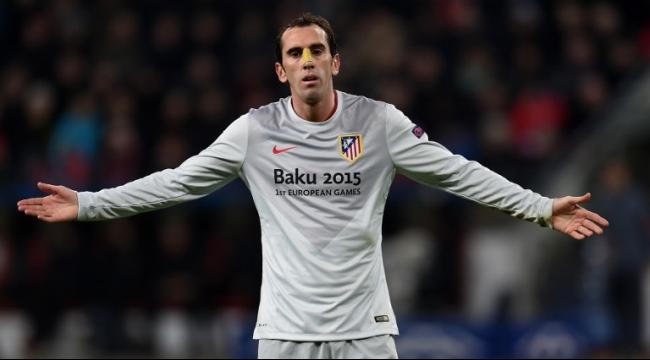أتلتيكو مدريد يمدد تعاقده مع المدافع غودين لغاية 2019