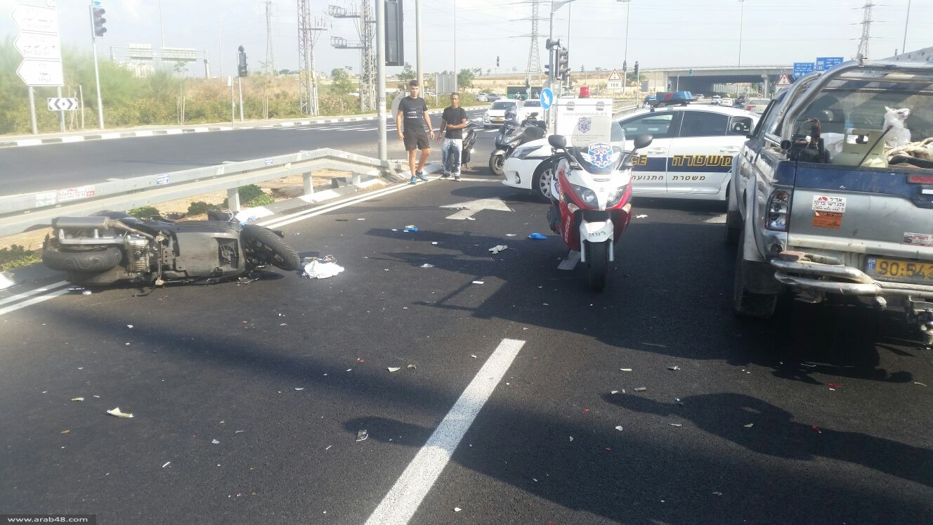 مصرع شخص و3 إصابات بحادث بين القدس وتل أبيب