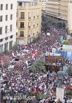 بالصور: طلعت ريحتكم... بيروت تصرخ!