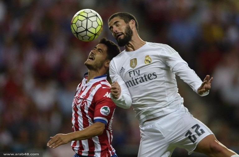 تعادل بطعم الخسارة لريال مدريد أمام سبورتينغ خيخون