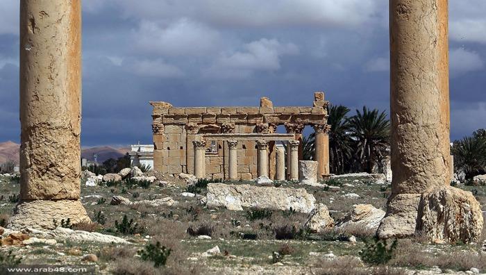 اليونيسكو: تفجير معبد بعلشمين بتدمر جريمة حرب