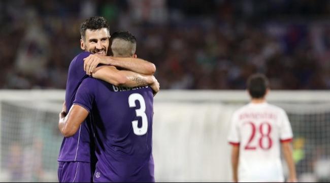 فيورنتينا يلحق الهزيمة بميلان بهدفين بافتتاحية الدوري