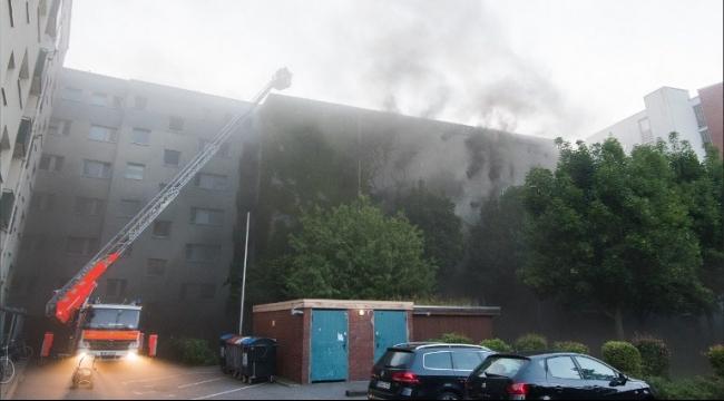 حريق في مبنى مخطّط لإيواء اللاجئين بألمانيا
