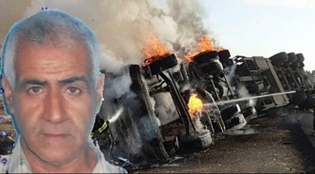 (فيديو) مصرع سالم نجيدات من البعينة نجيدات بانقلاب شاحنة